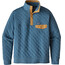 Patagonia M's Quilt Snap-T Pullover Bay Blue